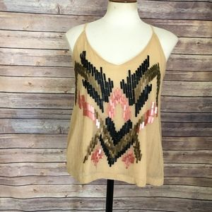 🌵4 for $20 UO Ecote Embellished top Size XS